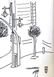 A quick cityscape sketch.