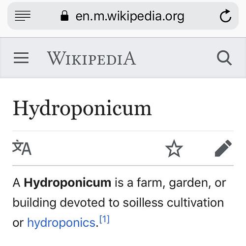 Hydroponicum