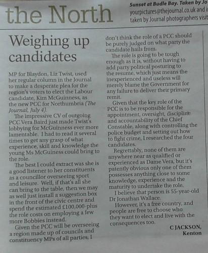 Journal PCC letter 11 July 19