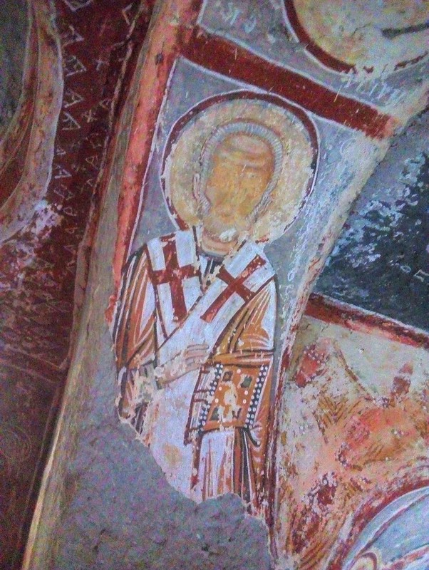 The frescoes here (Sümbüllü Kiliesi) are from the 10th to 12th centuries. by bryandkeith on flickr