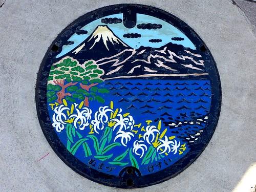 Numazu Shizuoka, manhole cover 3 (静岡県沼津市のマンホール3)