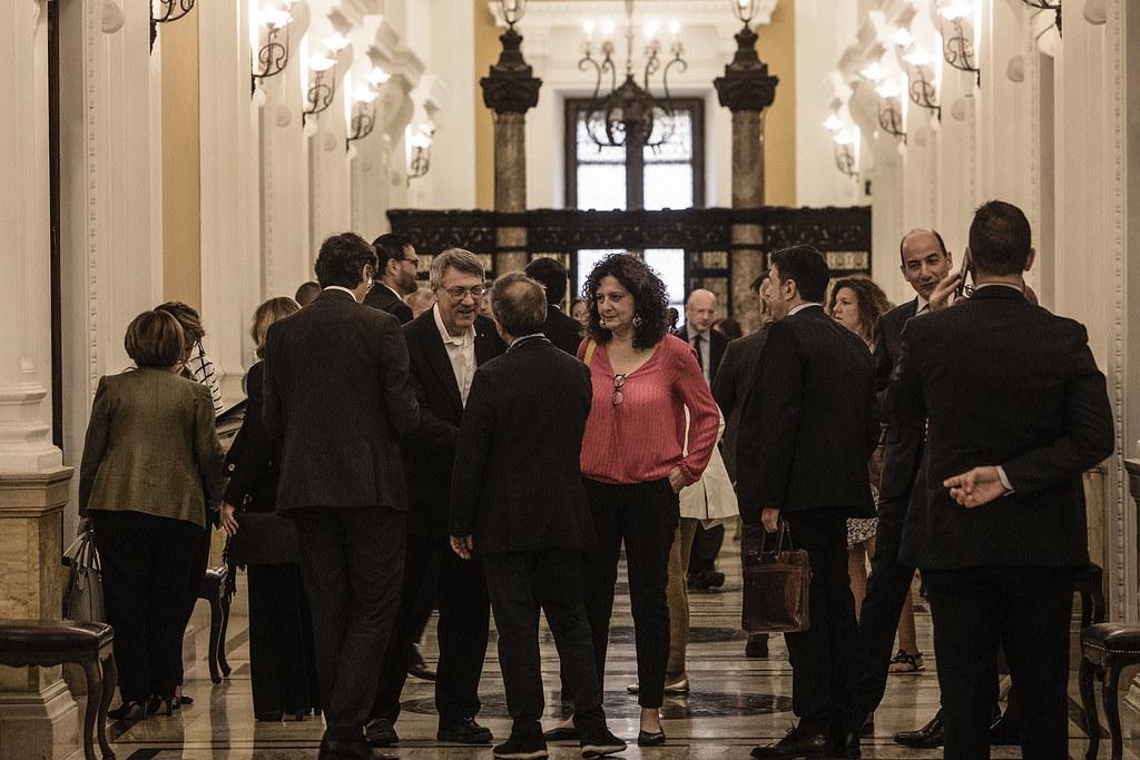 Incontro delle Parti Sociali con il Vice Presidente del Consiglio Matteo Salvini su crescita Paese