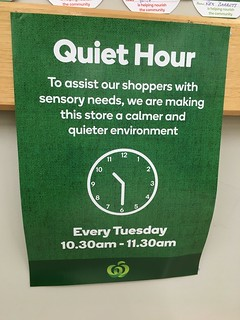Quiet Hour at the Supermarket | by Miss Shari
