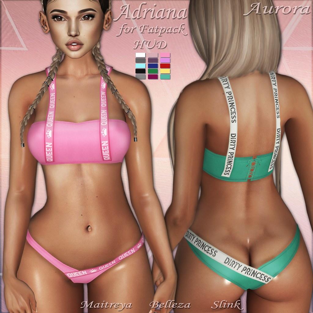 AURORA - Adriana bikini - TeleportHub.com Live!