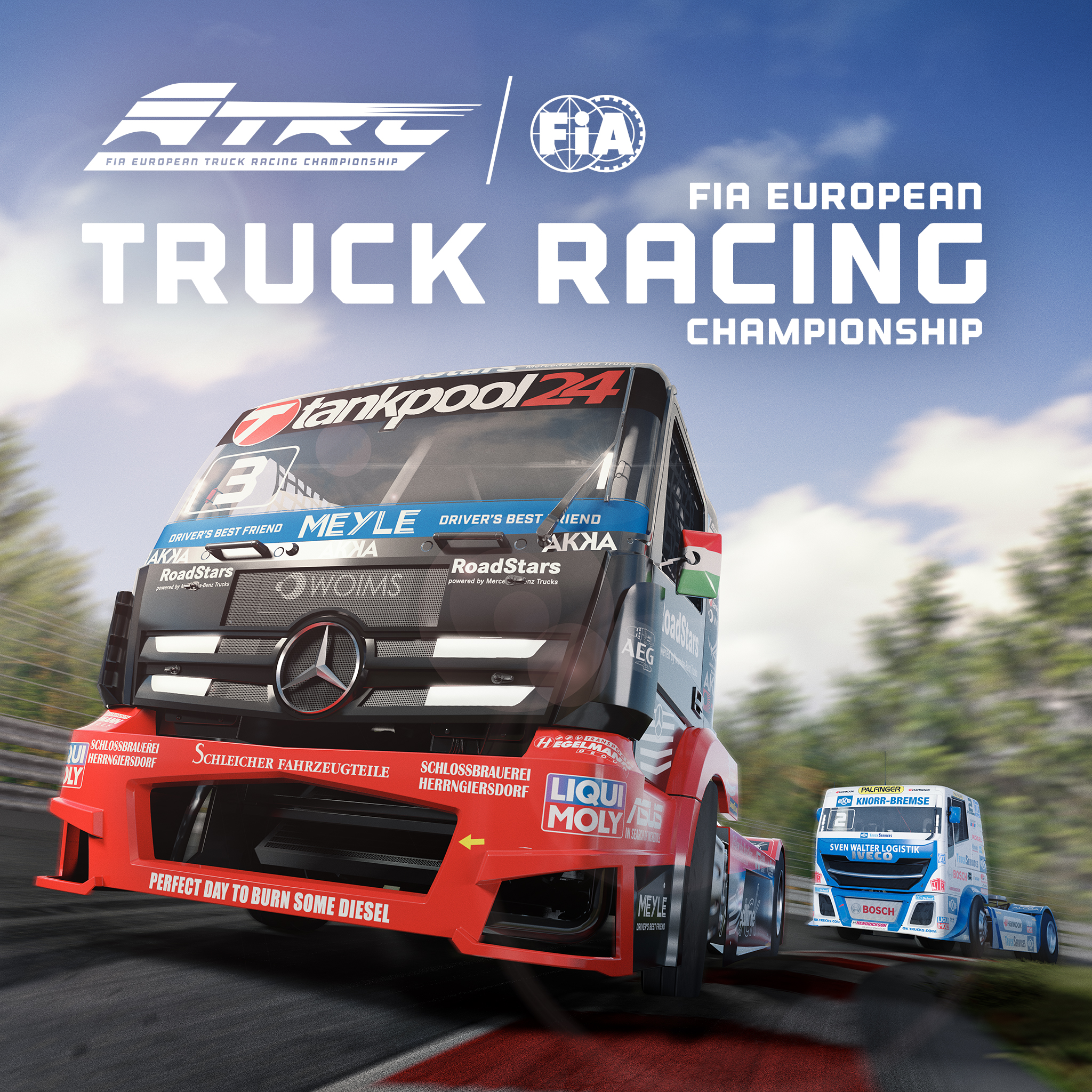 Thumbnail of FIA European Truck Racing Championship on PS4