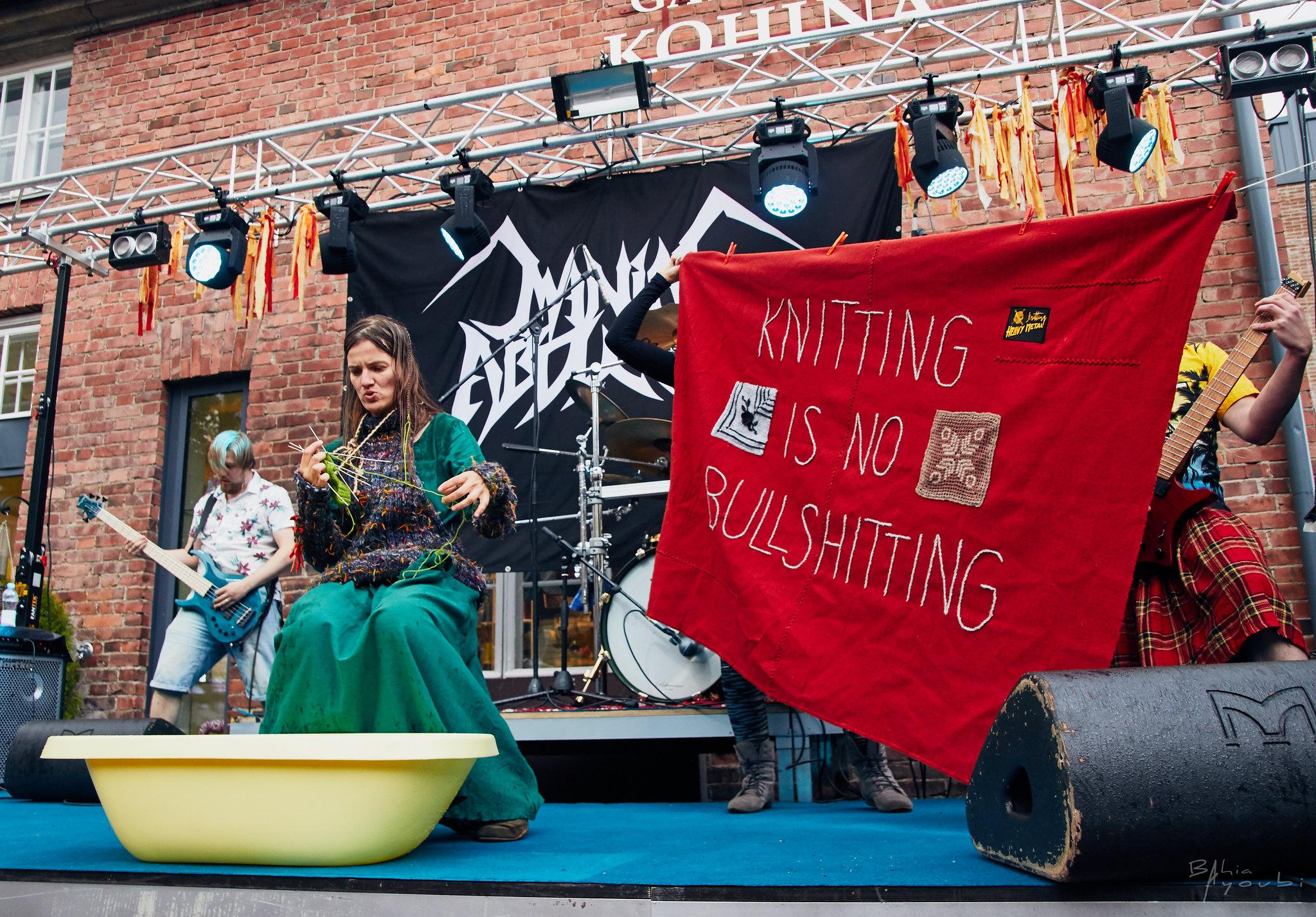 Heavy Metal Knitting 2019