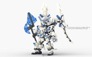 RX-0 Full Armor Unicorn Gundam Plan B Destroy Mode, Perfectibility Chibi Type Pose 01