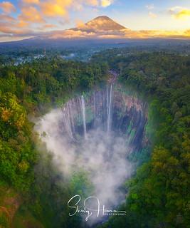Tumpak Sewu Waterfalls, Lumajang, East Java