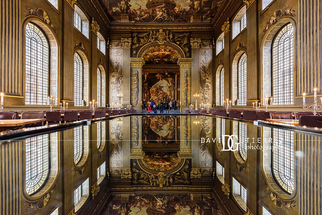 Reflect - Painted Hall, Old Royal Naval College, Greenwich, London, UK