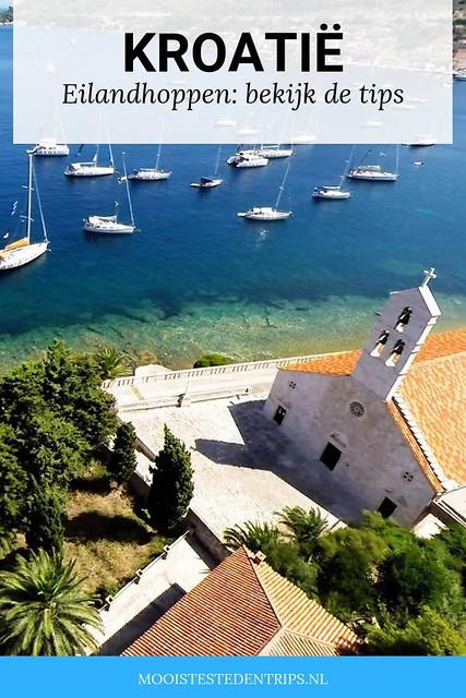 Kroatische eilanden, eilandhoppen in Kroatië. Bekijk alle tips | Mooistestedentrips.nl