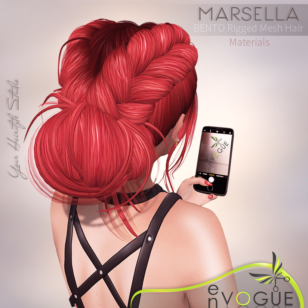 ● ❤️ ● enVOGUE – MARSELLA Hair – Bento ● ❤️ ●