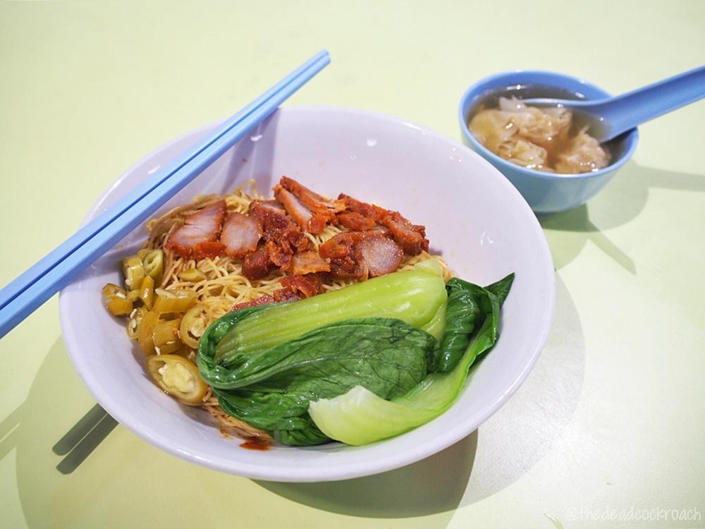 yap kee wanton noodle, holland drive, holland drive market &  food centre, food, food review, review, singapore, wanton mee, wanton noodle, 云吞面, 葉记全蛋云吞面, 雲吞麵, 葉记
