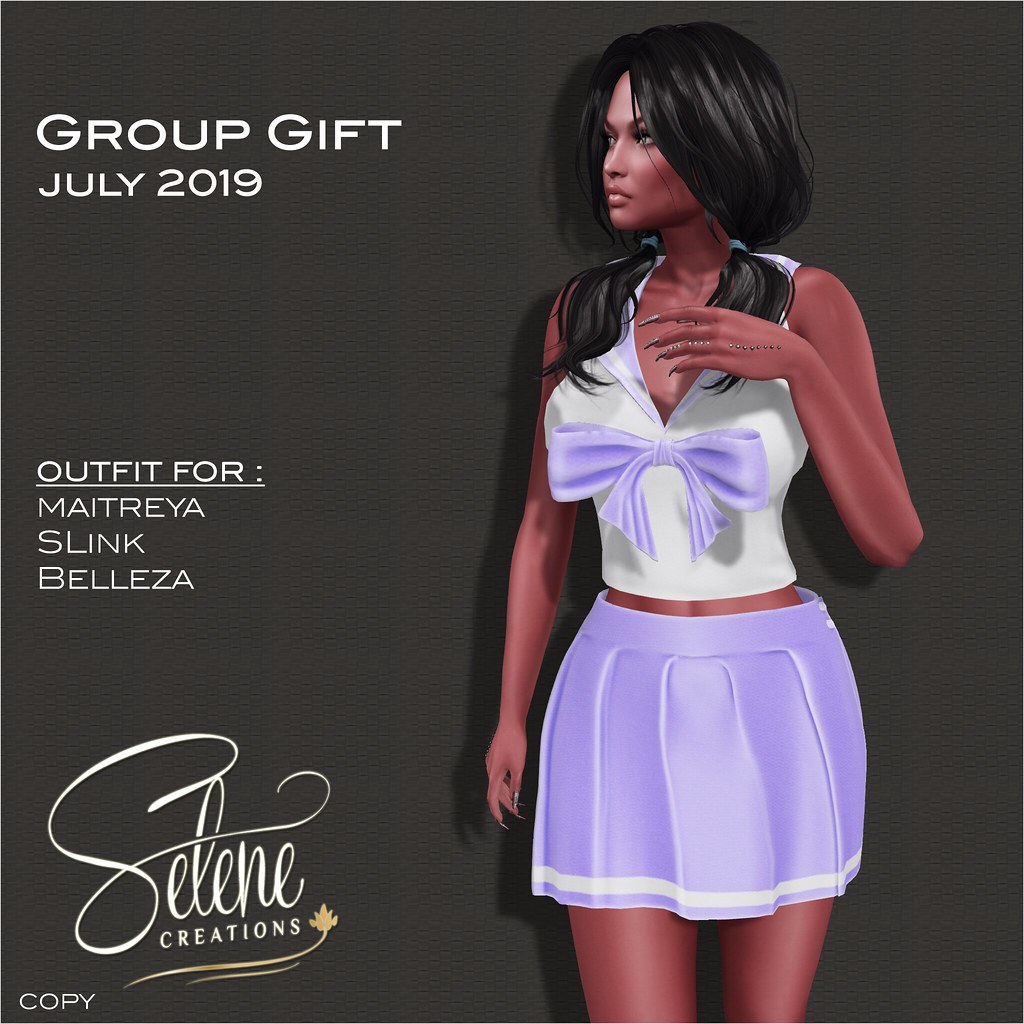 [Selene Creations] Group Gift July 2019 - TeleportHub.com Live!