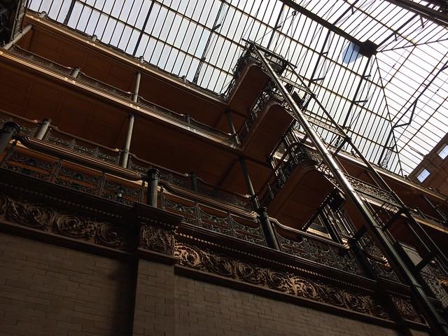 Elevator Shaft and Skylight