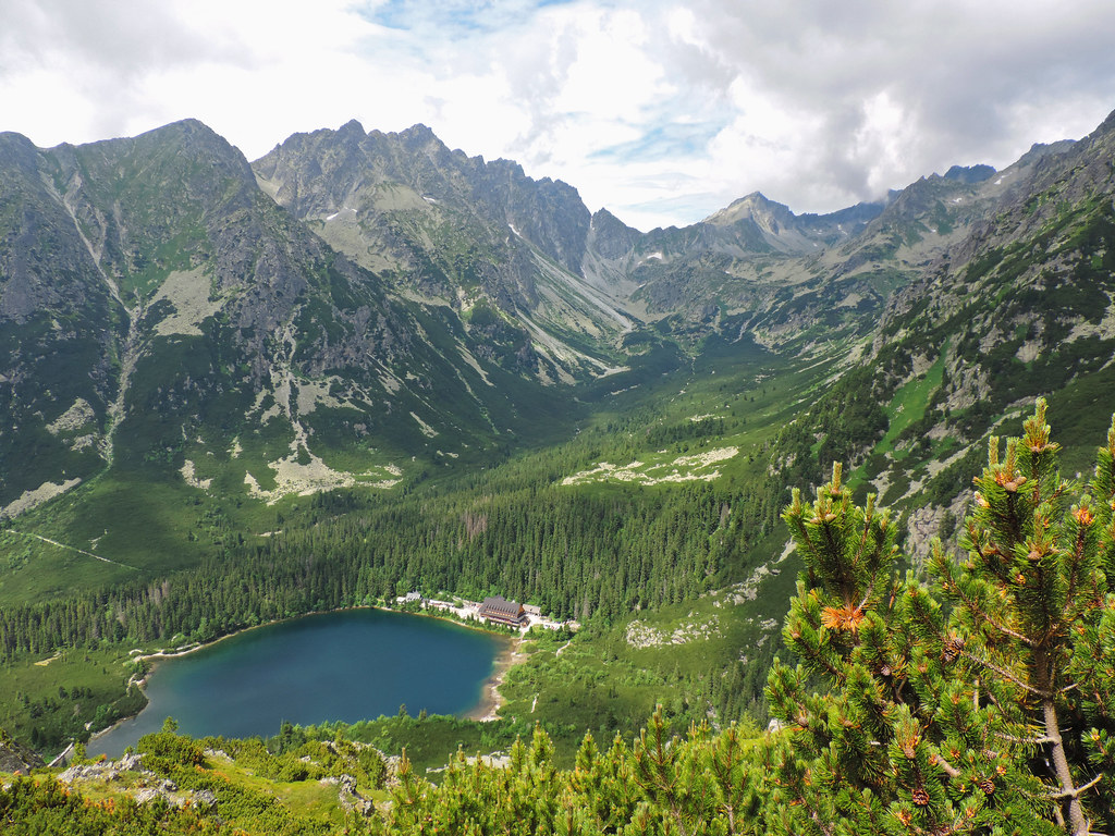 Day Hikes In The High Tatras: Popradské pleso