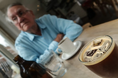 Coffee with Dad (focus on coffee)