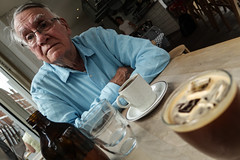 Coffee with Dad (focus on Dad)