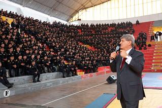 La Universidad San Ignacio de Loyola impartió un curso en Seguridad Deportiva a los jóvenes oficiales, suboficiales y agentes de la Policía Nacional del Perú que participarán como resguardo en los Juegos Panamericanos Lima 2019.