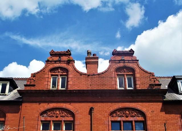 Dutch Gables, Lancashire Bricks