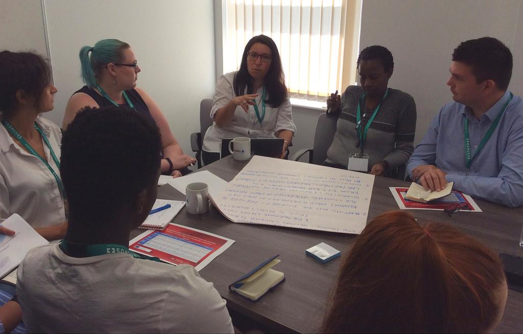 Widening Participant event workshop discussion