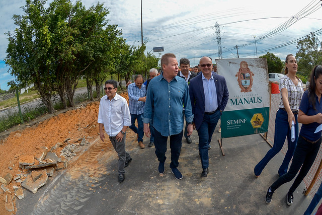 15.07.19 Prefeito Arthur dá inicio a obras de recuperação da Bola da Suframa