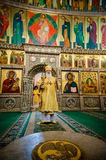 14.07.2019 | Литургия в Иверском монастыре