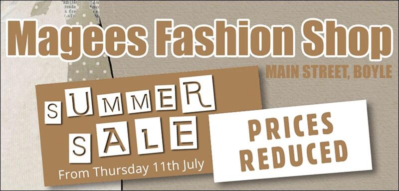 Magees Fashion Shop Advert_Summer_Sale