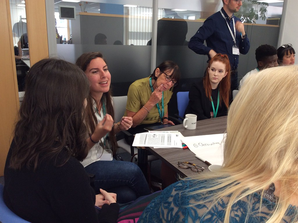 Widening participation event workshop