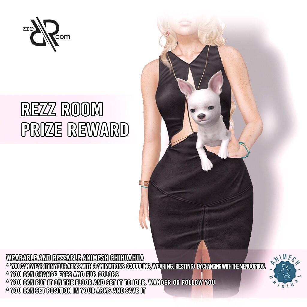 [Rezz Room] Chihuahua Holdable Animesh (Companion) VIP