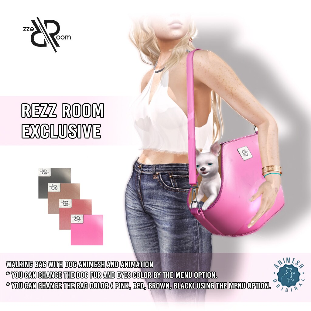 [Rezz Room] Dog Walking Bag Animesh Exclusive