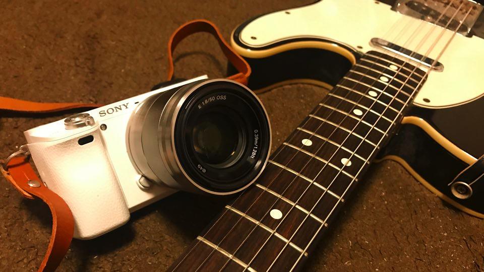 カメラとギター