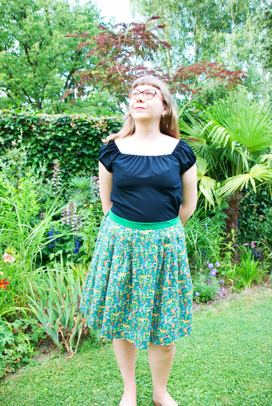 The rumble in the jungle skirt 01