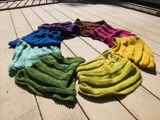 All 8 Willow Cowls.