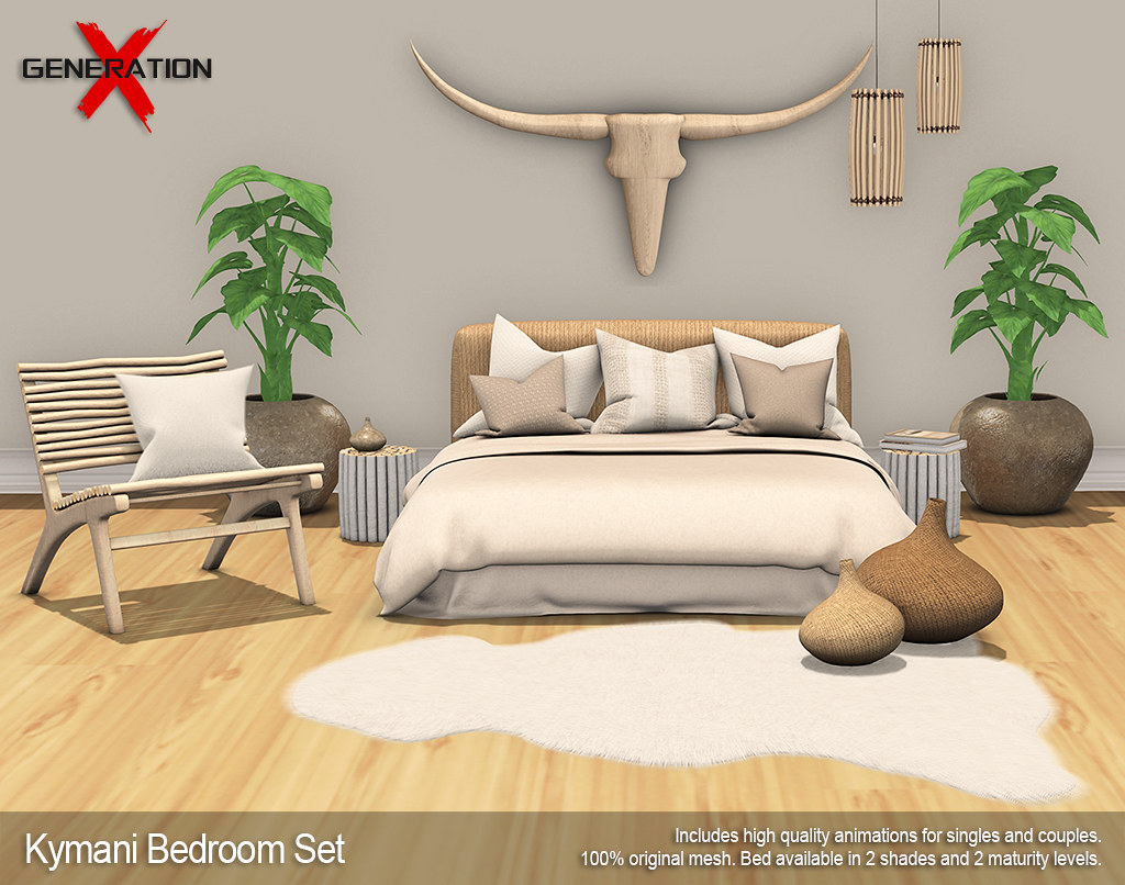 [ GenerationX ] Kymani Bedroom Set