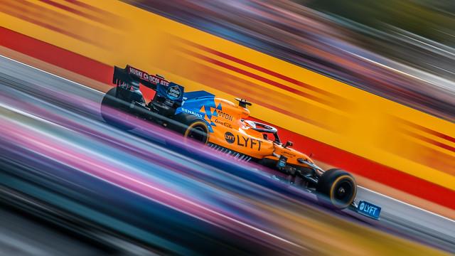 Carlos Sainz - Mclaren Renault - Silverstone 2019
