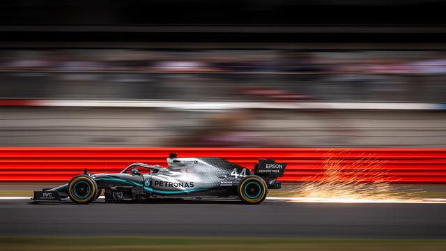 Lewis Hamilton - Mercedes - Silverstone 2019