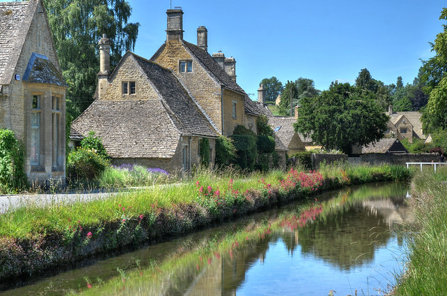 Lower Slaughter, The Cotswolds, Gloucestershire