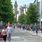 Photo of busy Fishergate in Preston