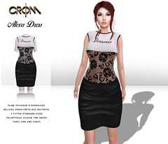 -CroM- Alexa Dress