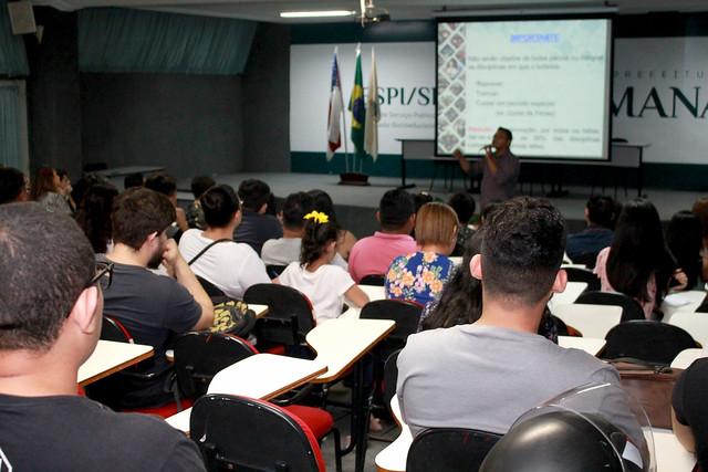 15.07.19 Bolsa Universidade convoca 300 beneficiários para contrapartida no Bosque da Ciência