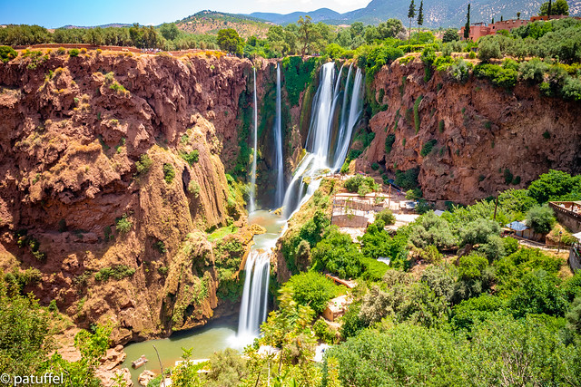 Ouzoud Falls in Morocco