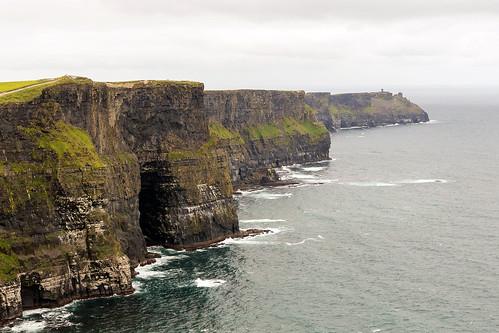 ireland eire cliffs coast moher cave ocean sea cliffsofmoher canoneosr