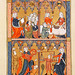 4 Cardinal Virtues from Somme le Roi by Dominican Friar Laurent, c 1290-1300