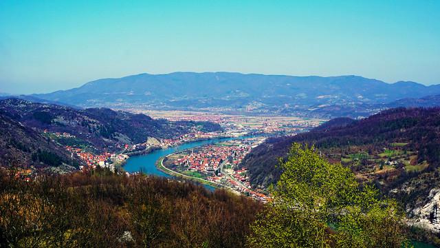 Zvornik i Karakaj sa Kule_Bosnia and Herzegovina