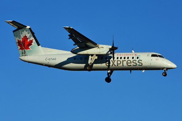 C-GTAG (Air Canada express - JAZZ)