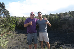 TJ and me at HVNP