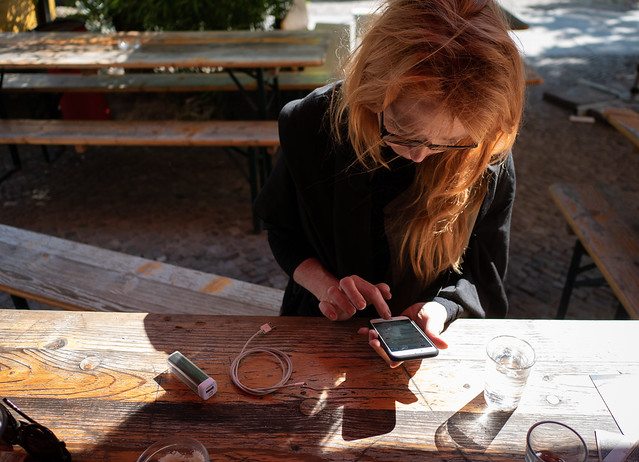 One week in Berlin (29): Checking the phone