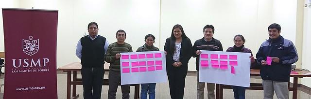 Universidad de San Martín de Porres capacitó a docentes de los colegios de Santa Anita en materia de Derechos Humanos, Derechos Constitucionales y Teoría Democrática
