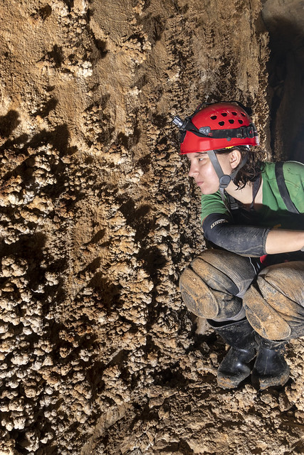 Annabelle Dempsey, popcorn, Blue Spring Cave, White County, Tennessee