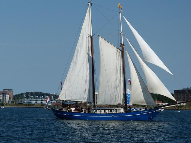 Traditionssegler in Kiel